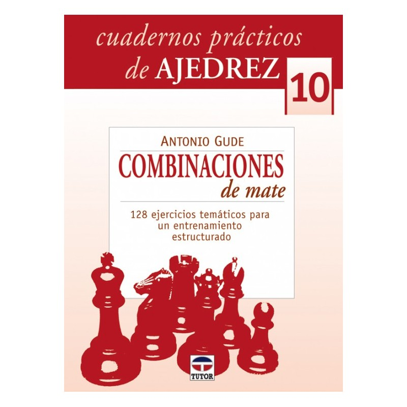 CUADERNOS AJEDREZ 10. COMBINACIONES DE MATE