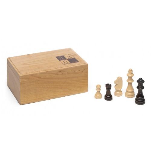 Figuras ajedrez madera grandes