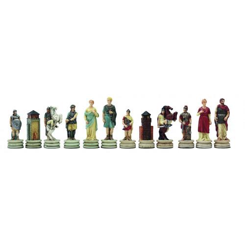 Romanos vs griegos. Figuras