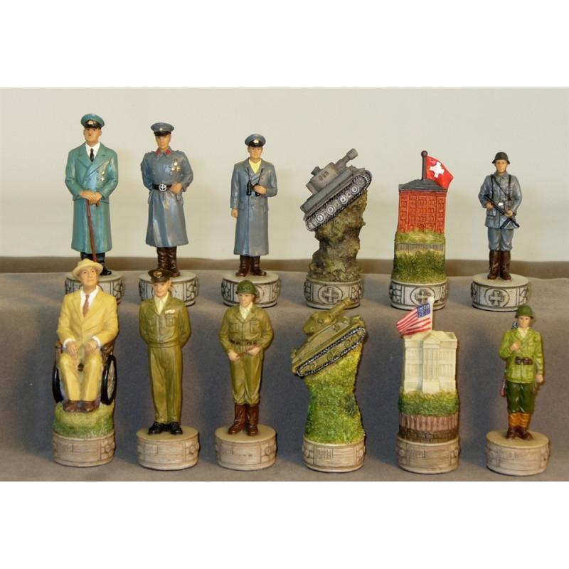 II Guerra mundial. Figuras