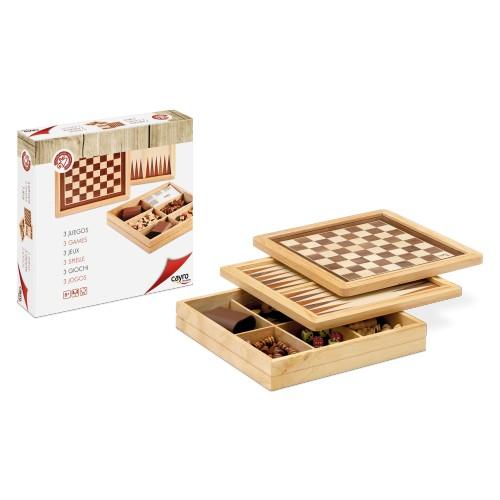 Marquetería ajedrez - damas - backgammon
