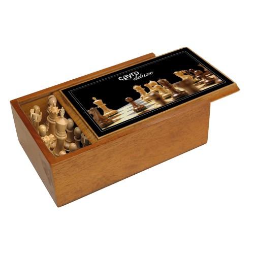 Piezas de ajedrez de lujo