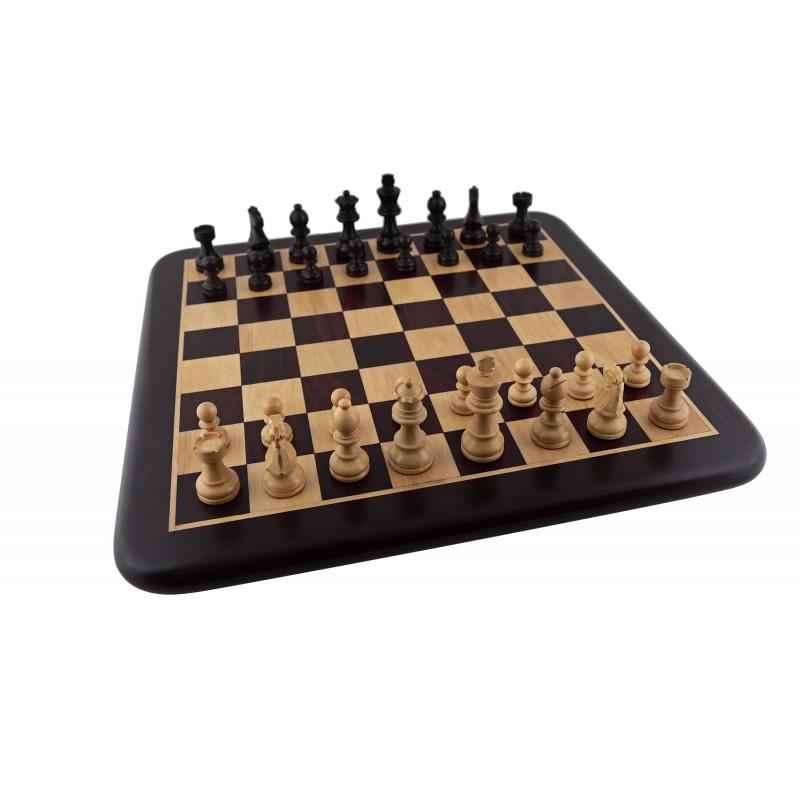 Tablero de ajedrez palo rosa