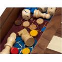 5 juegos con acc.madera plus